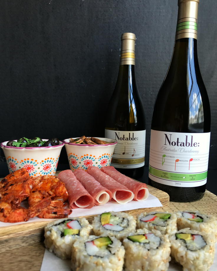 Wine Tasting & Tapas Viewing Party